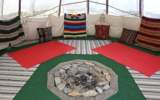 CrossRiver Wilderness Centre and ToursFire-pit