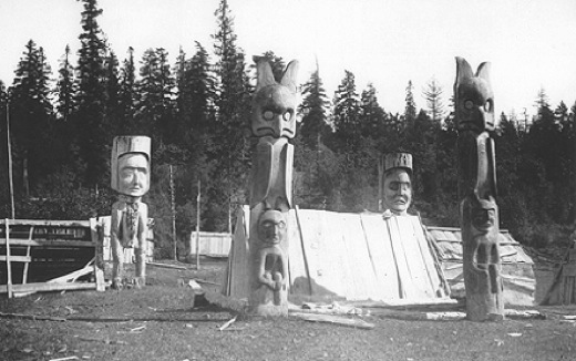 Puntledge RV Campground and Nim Nim Interpretive CentreHistoric