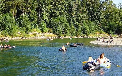 Puntledge RV Campground and Nim Nim Interpretive CentrePuntledge-River