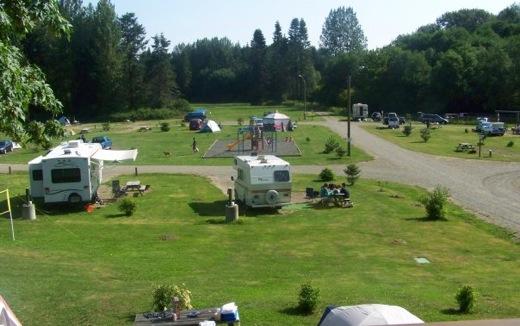 Puntledge RV Campground and Nim Nim Interpretive CentreRVs