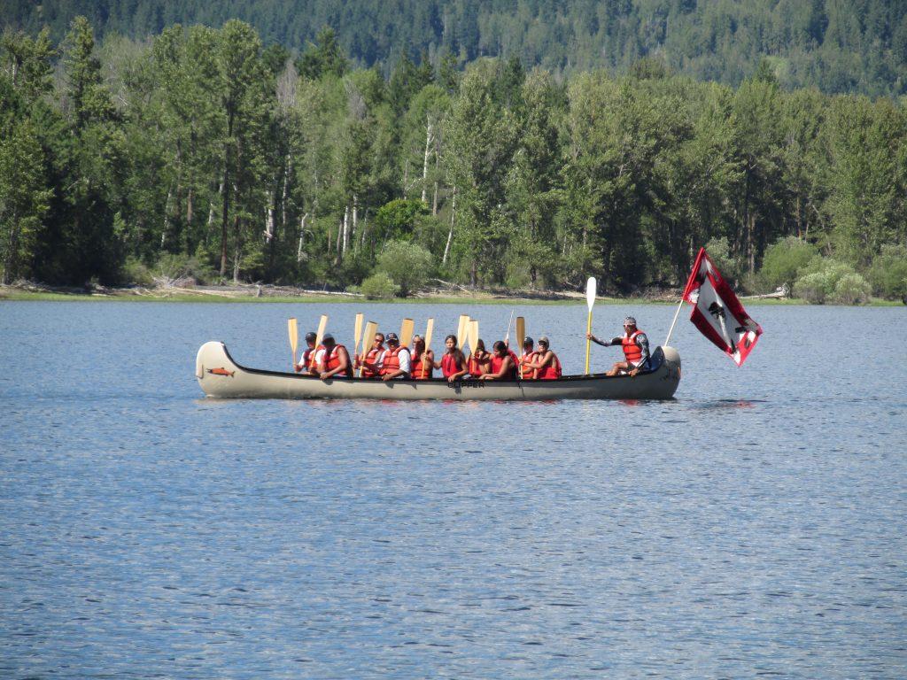 Quaaout Voyageur Canoe