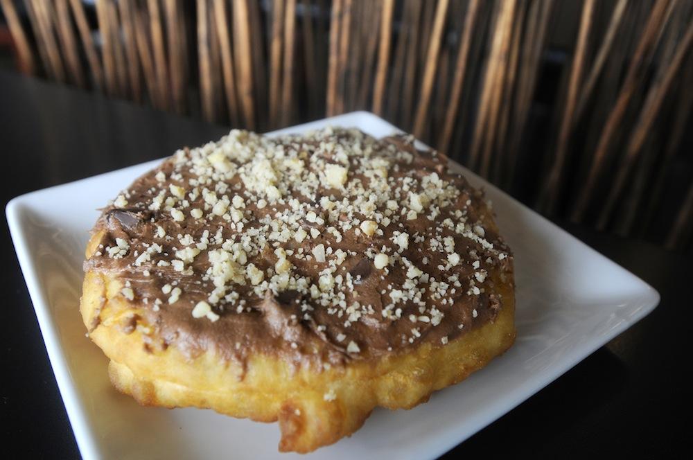 bannock-donut