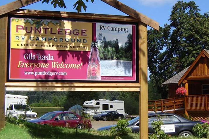 Puntledge RV Campground and Nim Nim Interpretive Centre_image