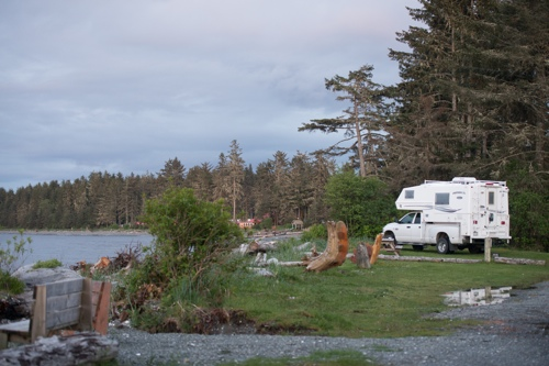 Cluxewe-Resort-RVing-Beach