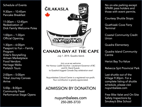 Poster for Canada Day