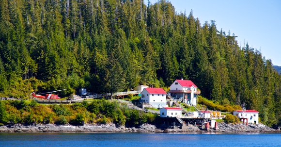 Lighthouse near Klemtu B.C.