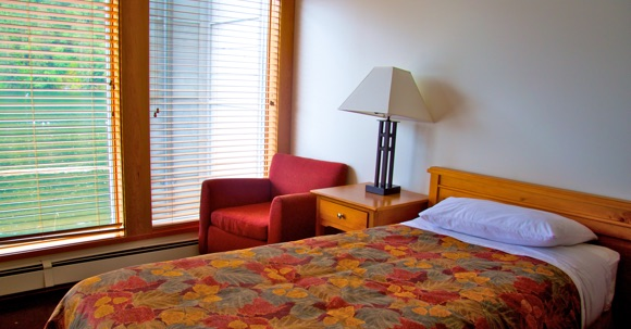 Spirit Bear Quest, Klemtu B.C., Spirit Bear Lodge guestroom interior