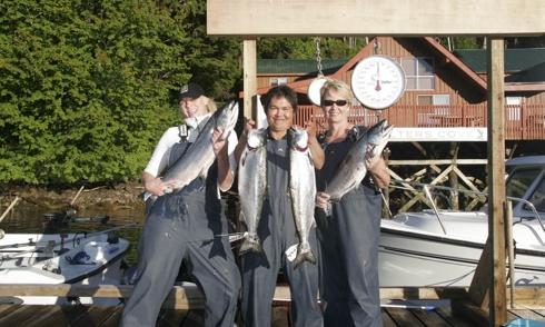 Walters Cove Resort Ladies Fishing