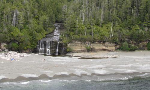 Tsusiat Lake -Falls