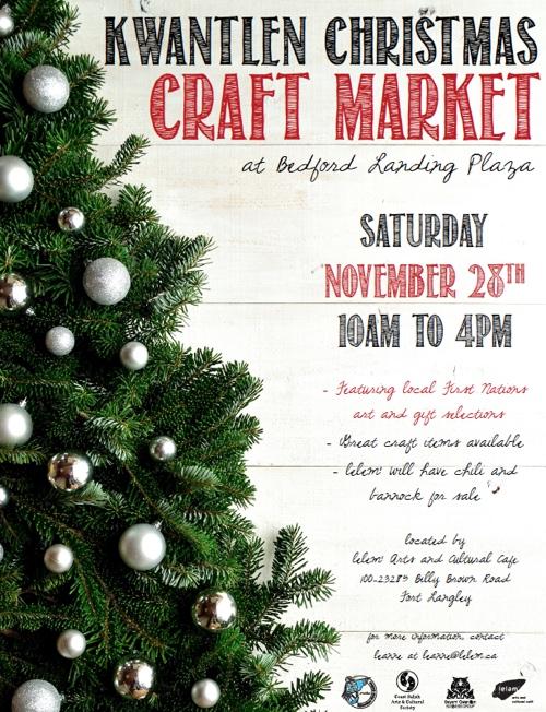 Fort Langley Christmas Craft Fair