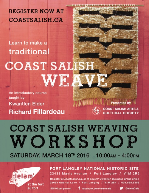 2016-02-19 Rick Fillardeau weaving workshop poster final outlines