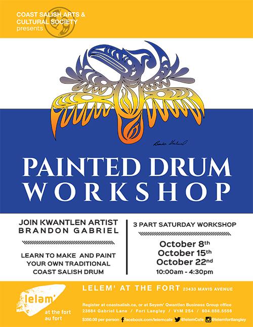 Painted-Drum-Workshop-Poster