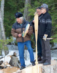 scotch creek elders on stump