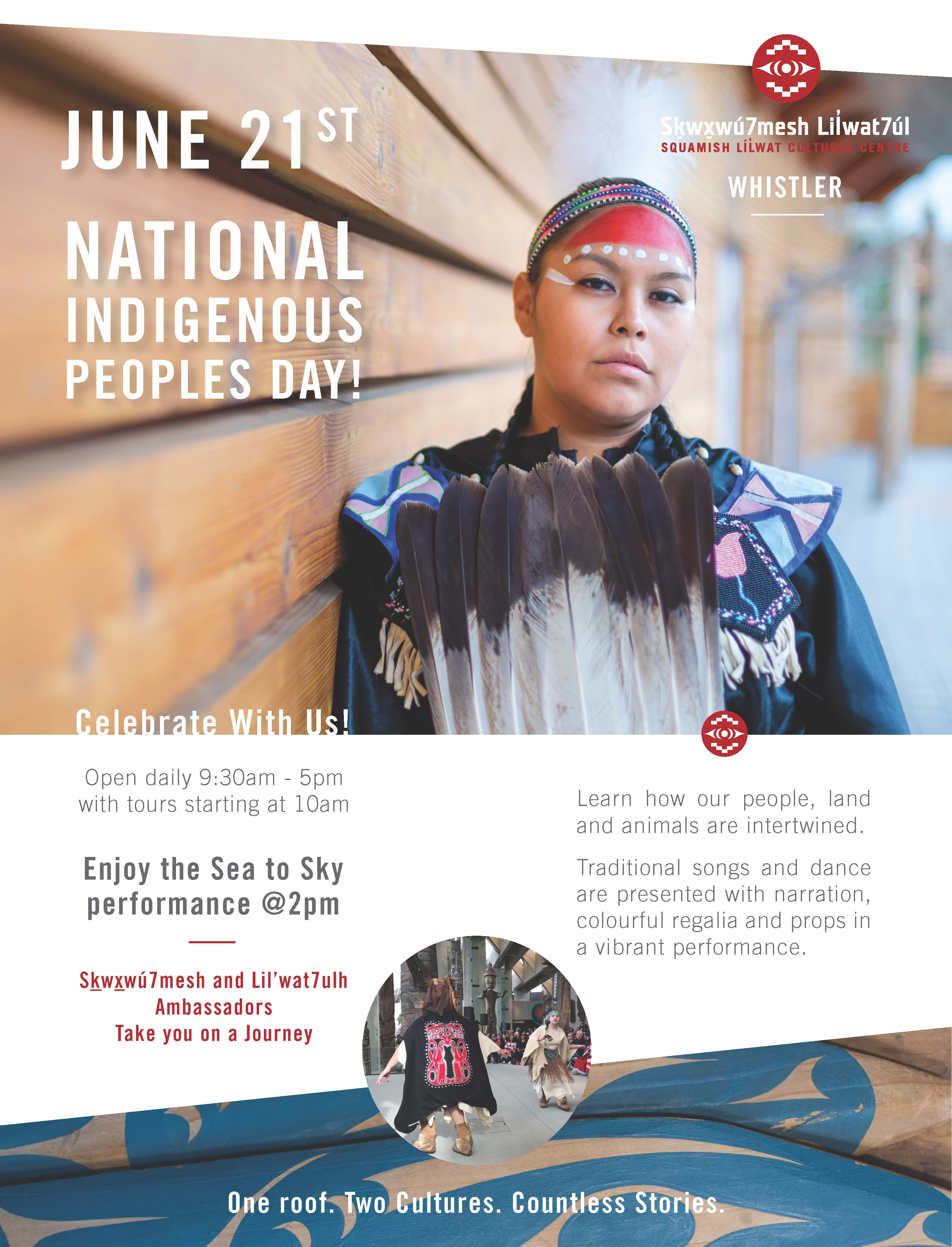 Squamish Lil'wat Cultural Centre - National Indigenous Peoples Day